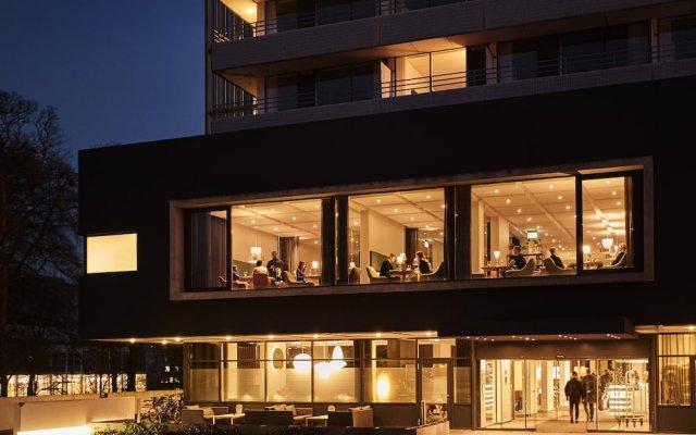 Отель Comwell Hvide Hus Aalborg Дания, Алборг - отзывы, цены и фото номеров - забронировать отель Comwell Hvide Hus Aalborg онлайн вид на фасад