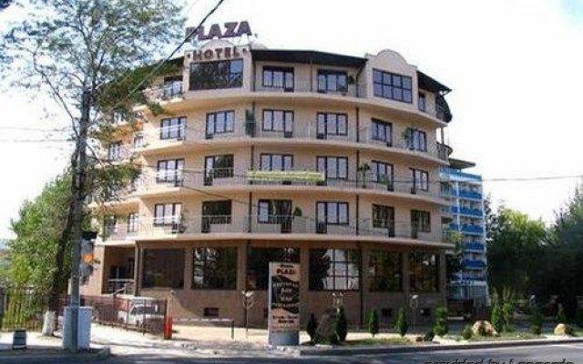 Гостиница Плаза в Анапе 13 отзывов об отеле, цены и фото номеров - забронировать гостиницу Плаза онлайн Анапа вид на фасад