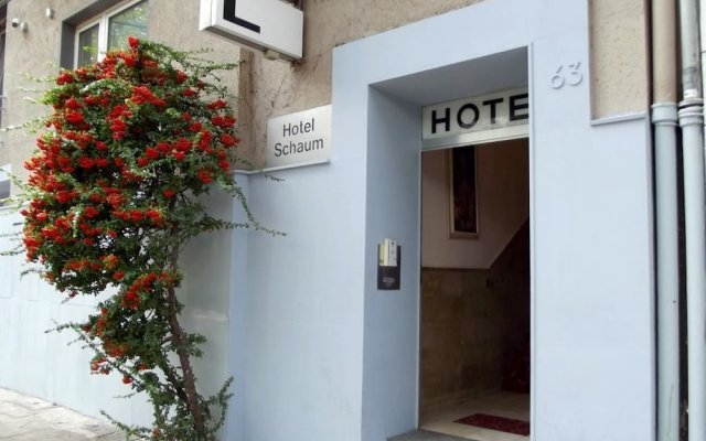Hotel Schaum вид на фасад
