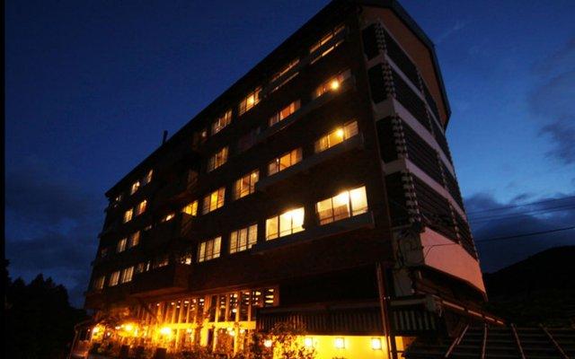 Отель Fukudaya Ундзен вид на фасад