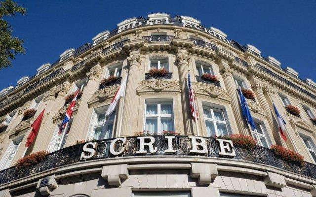 Отель Scribe Paris Opera by Sofitel вид на фасад