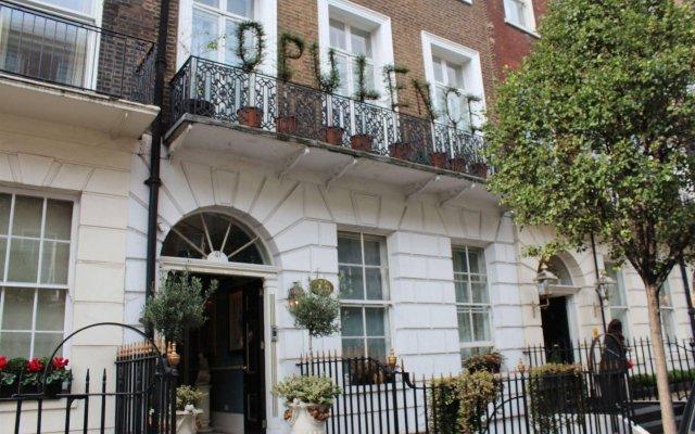 Отель Opulence Central London вид на фасад