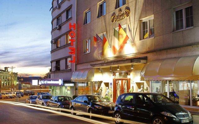 Отель Queens Astoria Design Hotel Сербия, Белград - 3 отзыва об отеле, цены и фото номеров - забронировать отель Queens Astoria Design Hotel онлайн вид на фасад