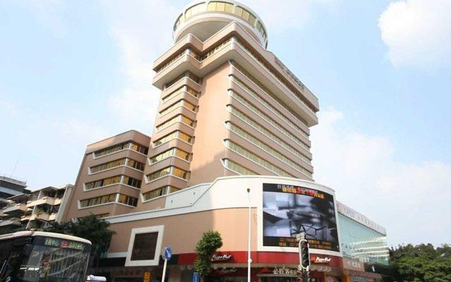 Отель Overseas Capital Hotel Китай, Джиангме - отзывы, цены и фото номеров - забронировать отель Overseas Capital Hotel онлайн вид на фасад