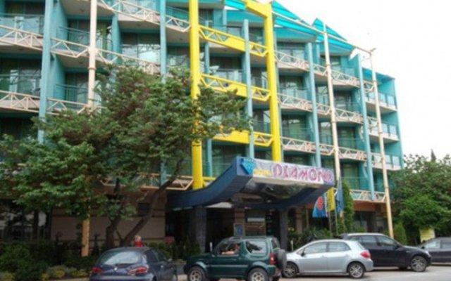 Отель Diamant Sunny Beach вид на фасад