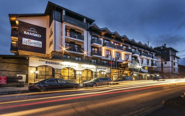Отель Bansko SPA & Holidays вид на фасад