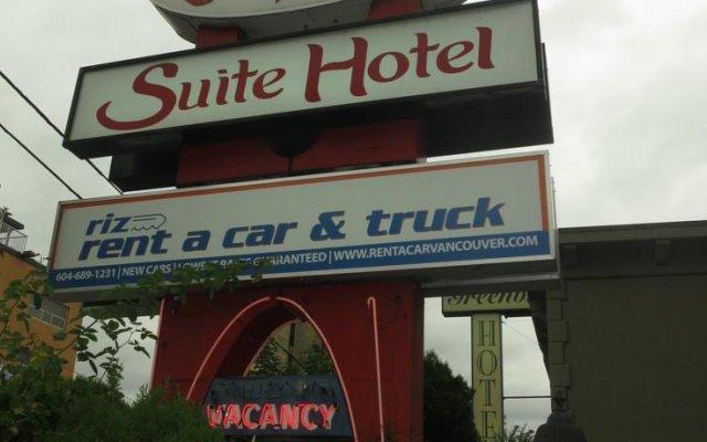Отель Tropicana Suite Hotel Канада, Ванкувер - отзывы, цены и фото номеров - забронировать отель Tropicana Suite Hotel онлайн вид на фасад