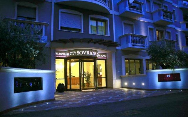 Отель Sovrana & Re Aqva SPA Италия, Римини - - забронировать отель Sovrana & Re Aqva SPA, цены и фото номеров вид на фасад