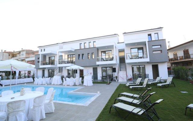 Отель Adonis Village Греция, Пефкохори - отзывы, цены и фото номеров - забронировать отель Adonis Village онлайн вид на фасад