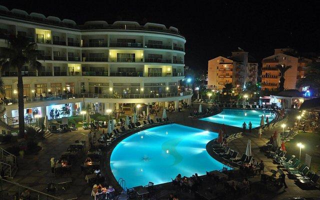 Pineta Park Deluxe Hotel Турция, Мармарис - отзывы, цены и фото номеров - забронировать отель Pineta Park Deluxe Hotel - All Inclusive онлайн вид на фасад