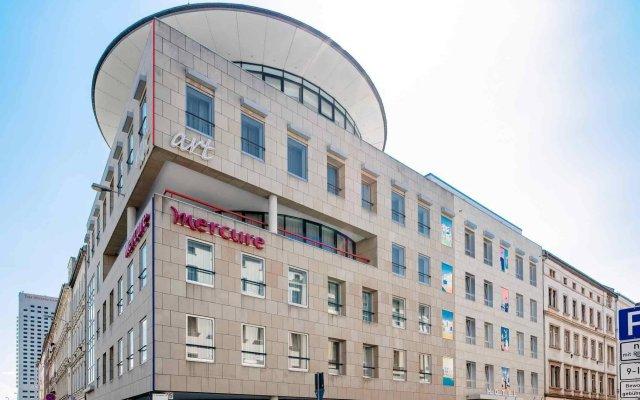 Mercure Hotel Art Leipzig вид на фасад