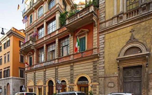 Отель Hiberia Италия, Рим - 1 отзыв об отеле, цены и фото номеров - забронировать отель Hiberia онлайн вид на фасад