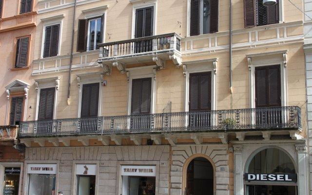 Отель Corso Grand Suite вид на фасад