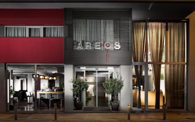 Areos Hotel вид на фасад