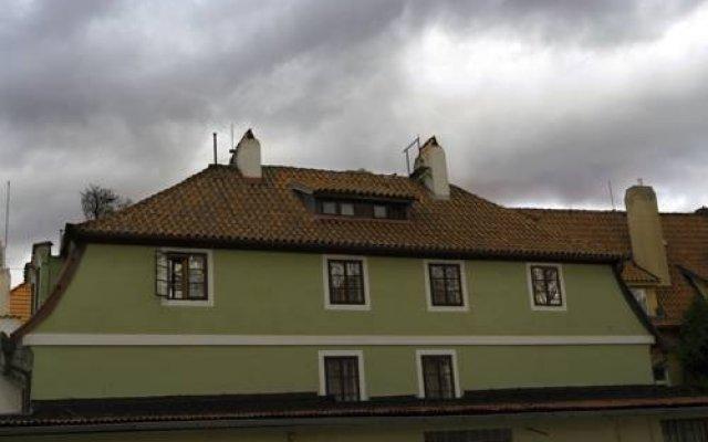 Гостевой Дом Pension Dientzenhofer Прага вид на фасад