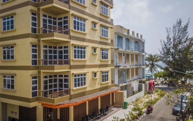 Отель Three Inn Мальдивы, Северный атолл Мале - отзывы, цены и фото номеров - забронировать отель Three Inn онлайн вид на фасад