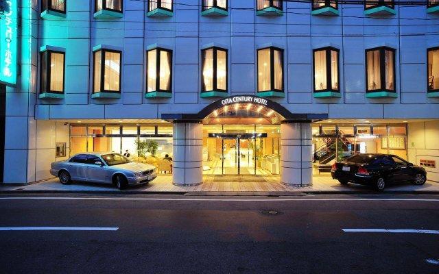 Отель Oita Century Ойта вид на фасад