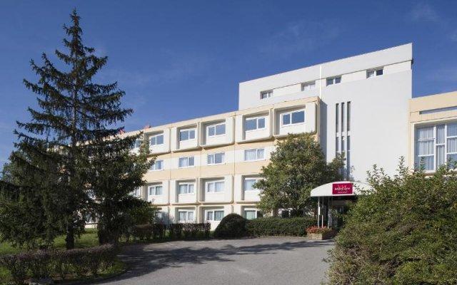 Отель Mercure Annemasse Porte De Genève Франция, Гайар - отзывы, цены и фото номеров - забронировать отель Mercure Annemasse Porte De Genève онлайн вид на фасад