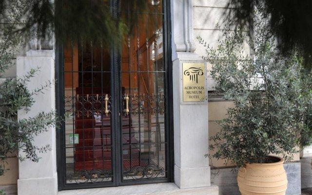 Отель Acropolis Museum Boutique Афины вид на фасад