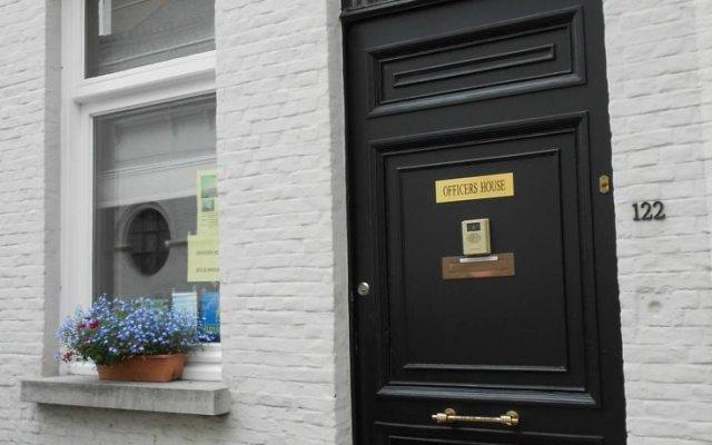 Отель B&B An Officers House Бельгия, Брюгге - отзывы, цены и фото номеров - забронировать отель B&B An Officers House онлайн вид на фасад