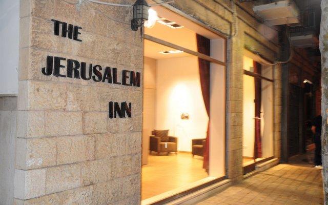 Отель Jerusalem Inn Иерусалим вид на фасад