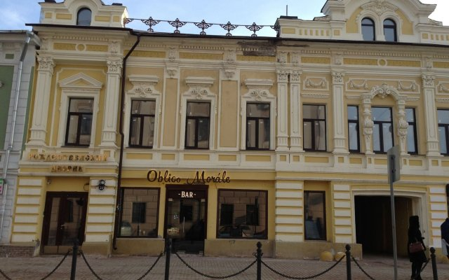 Бутик отель Рождественский Дворик Нижний Новгород вид на фасад