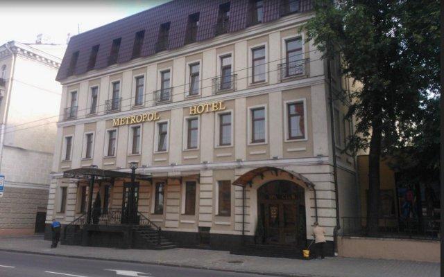 Отель Метрополь Могилёв вид на фасад