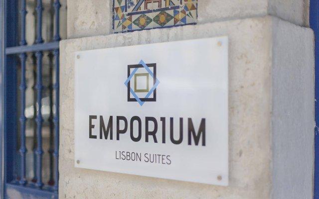 Отель Emporium Lisbon Suites вид на фасад
