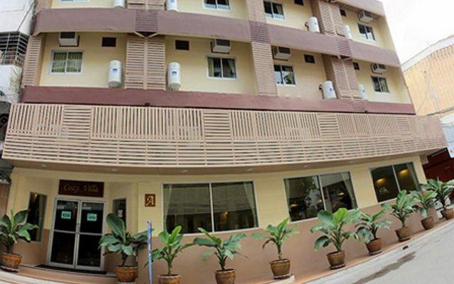 Отель Cozy Villa Бангкок вид на фасад