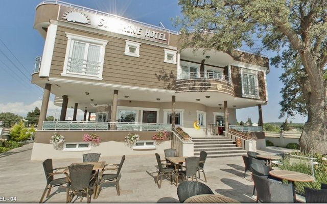 Geyikli Sunshine Hotel Тевфикие вид на фасад