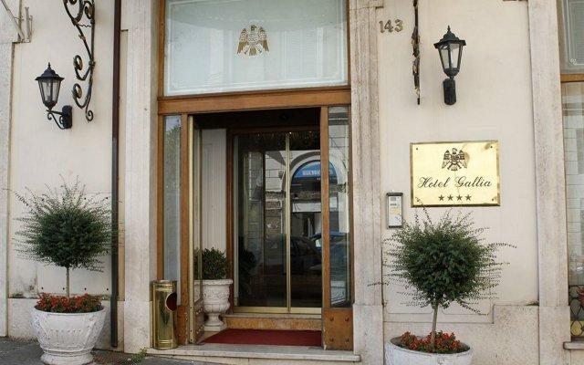 Отель Gallia Италия, Рим - 7 отзывов об отеле, цены и фото номеров - забронировать отель Gallia онлайн вид на фасад