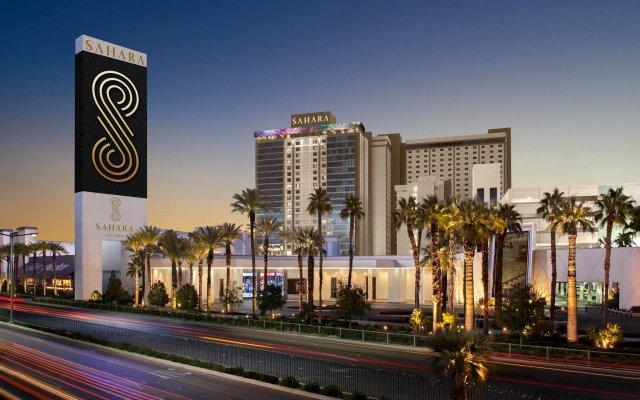 Отель SLS Las Vegas вид на фасад