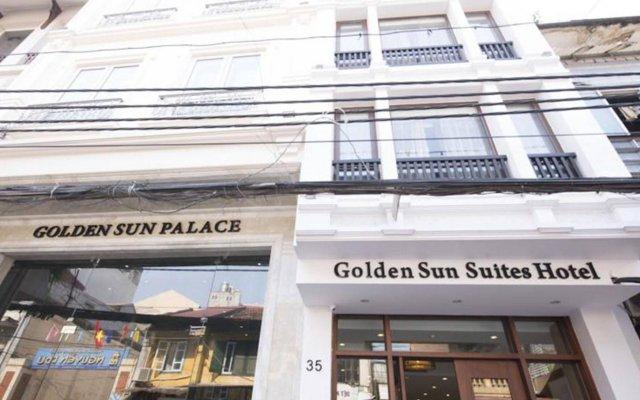 Отель Golden Sun Suites Hotel Вьетнам, Ханой - отзывы, цены и фото номеров - забронировать отель Golden Sun Suites Hotel онлайн вид на фасад