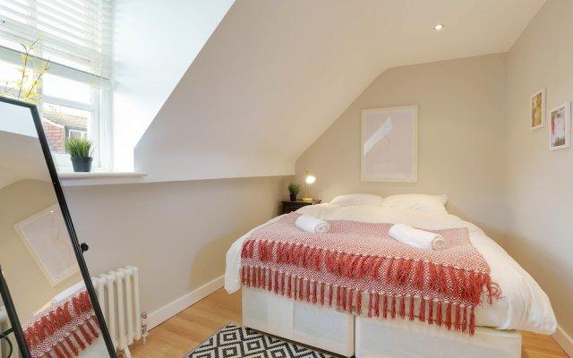 Апартаменты Boho Apartment in the Lanes комната для гостей