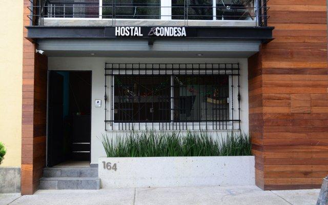 Отель Hostal Be Condesa Мехико вид на фасад