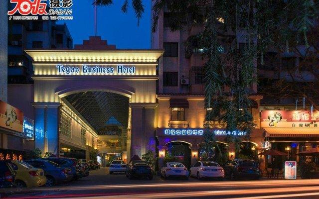 Отель Zhongshan Tegao Business Hotel Китай, Чжуншань - отзывы, цены и фото номеров - забронировать отель Zhongshan Tegao Business Hotel онлайн вид на фасад