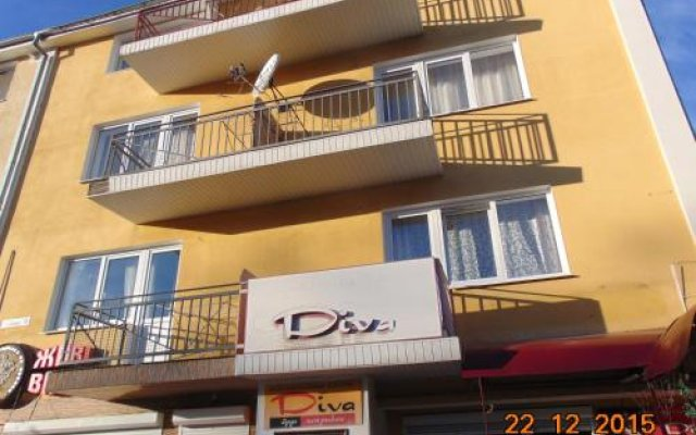Гостиница Villa Lidiya вид на фасад