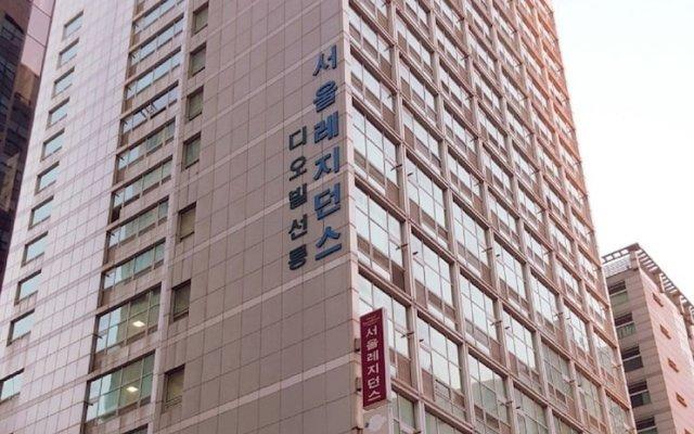 Апартаменты Eunice Studio in Gangnam вид на фасад