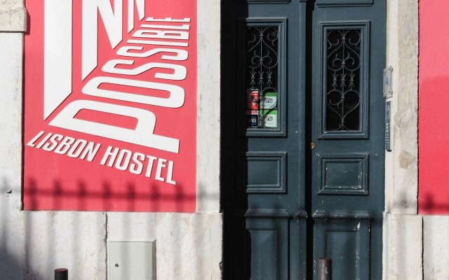 Inn Possible Lisbon Hostel вид на фасад
