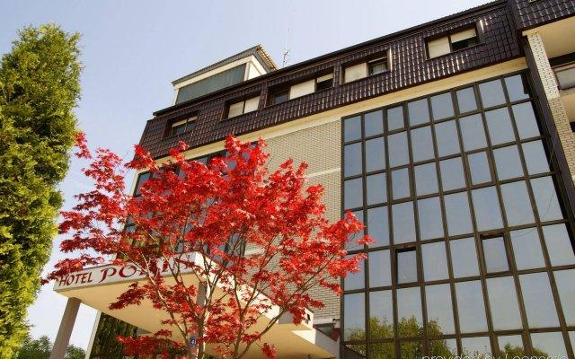 Porin Hotel Zagreb вид на фасад