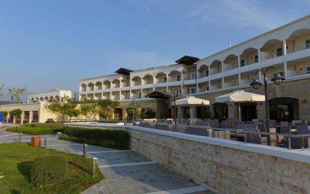 Отель Neptune Hotels Resort and Spa Греция, Калимнос - отзывы, цены и фото номеров - забронировать отель Neptune Hotels Resort and Spa онлайн вид на фасад