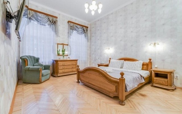 Апартаменты Ludwig Apartments on 4-ya liniya комната для гостей