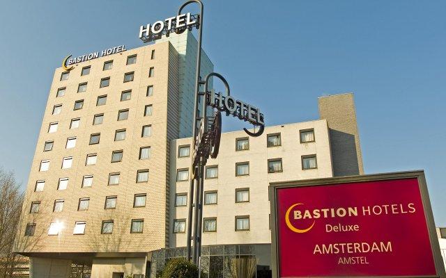 Bastion Hotel Amsterdam Amstel вид на фасад