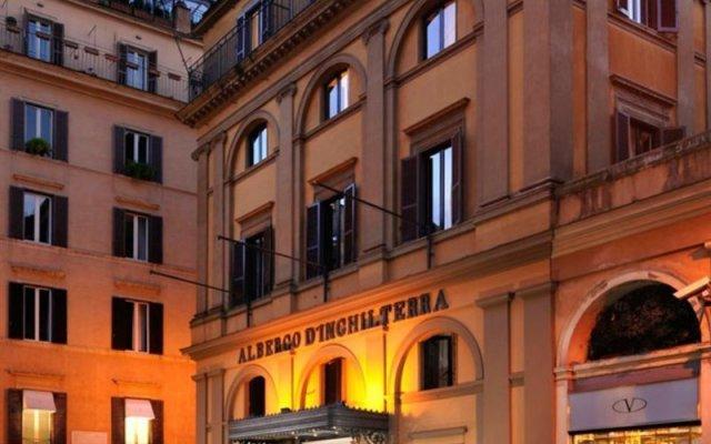Hotel d'Inghilterra Roma - Starhotels Collezione вид на фасад