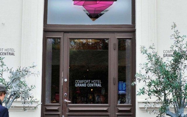Comfort Hotel Grand Central вид на фасад