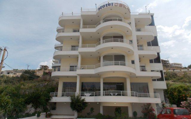 Отель Oskar вид на фасад