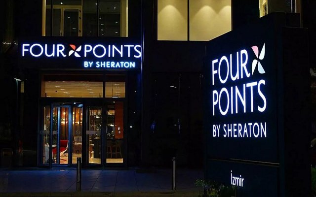 Отель Four Points by Sheraton Izmir вид на фасад