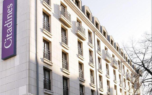 Отель Citadines Les Halles Paris вид на фасад