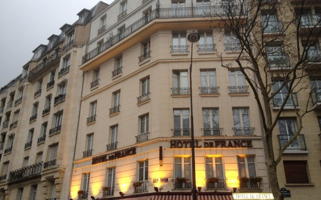 Отель de France Invalides Франция, Париж - 2 отзыва об отеле, цены и фото номеров - забронировать отель de France Invalides онлайн вид на фасад