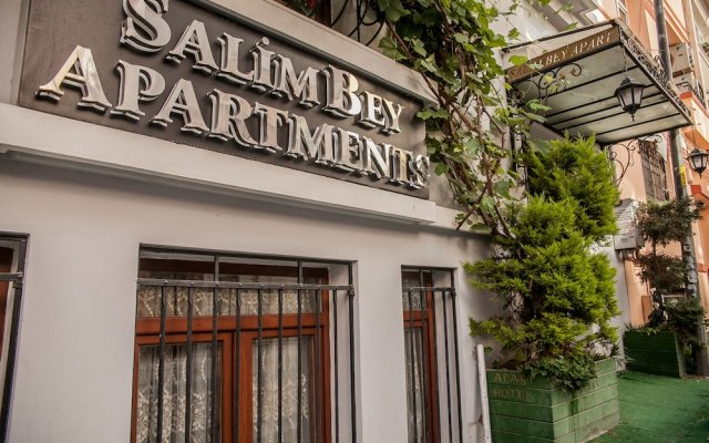 Апартаменты Salim Bey Apartments вид на фасад